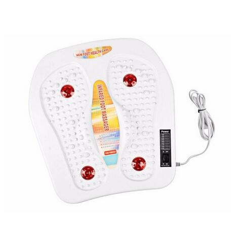 Physical infrared reflexology foot Massager electric machine Automatic roller feet care massager circulation therapy healthsweet  цена и фото