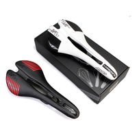 Pura Raza 2017 Carbon Saddle Leather Sillin PU Soft Mtb Road Bicycle Saddle Bike Seat Selle