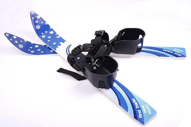 1 pc chine offre spéciale Ski Snowboard avec bâtons de Ski fixations bottes pour Junior enfants enfants débutant - 2