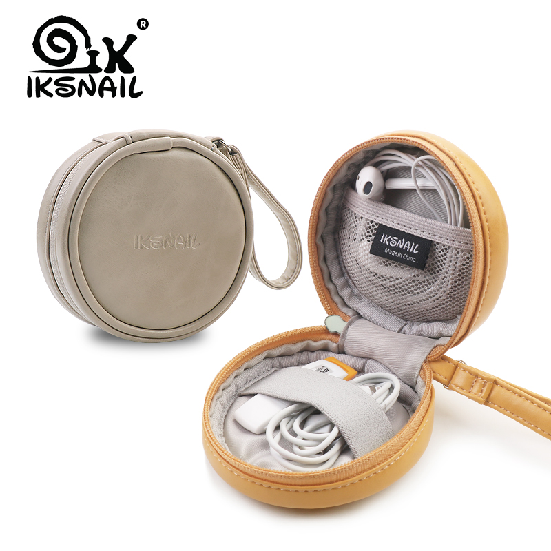 IKSNAIL PU Kopfhörer Fall Kopfhörer Tasche Für <font><b>Apple</b></font> <font><b>Airpods</b></font> Earpods ForSennheiser Ohr Pads Drahtlose Bluetooth Kopfhörer Accessorries image