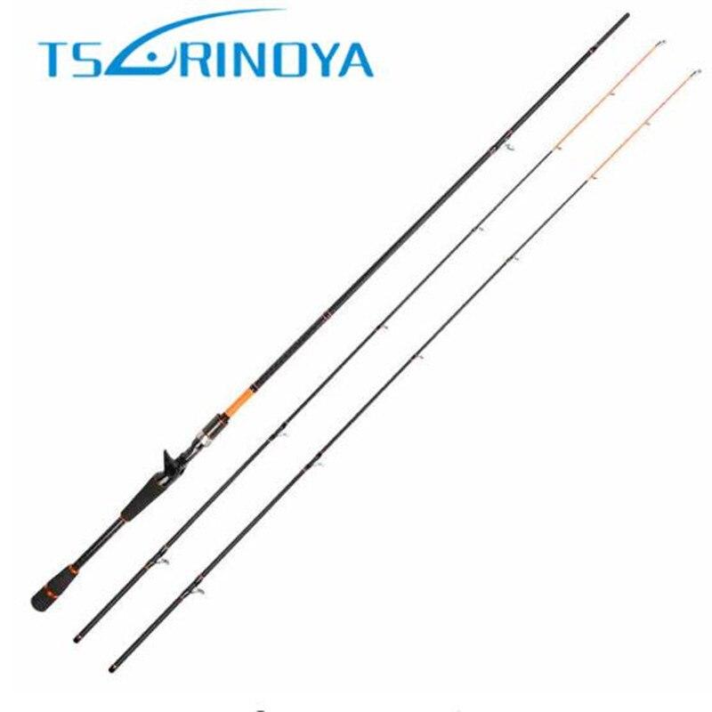 Tsurinoya Updated Carbon Casting Rod 2.1m/2.4m Joy Together 2 Tips M & ML Baitcasting Fishing Rod Bass Rod Fishing Tackle Olta