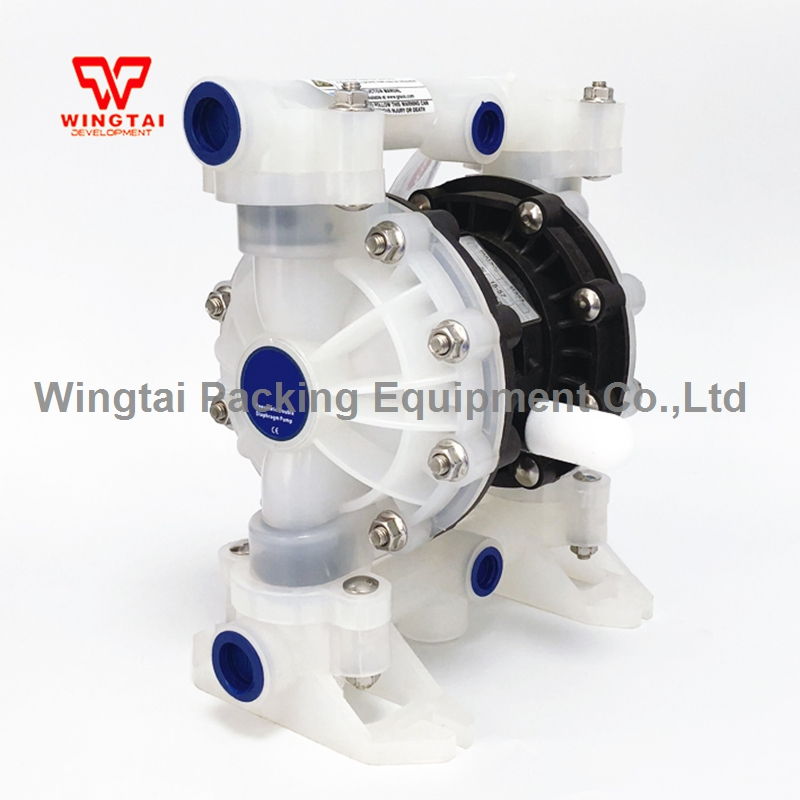 57L/min PP Material Pneumatic Diaphragm Pump BML 15P For Waste Water and Corrosive Liquid Circulating Transport