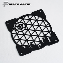 FormulaMod Fm-FanCover, Acrylic Square Fan Cover fan grill, For 120mm Fan, Fan-Square-Series 1