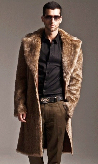 Aliexpress.com : Buy Mens fake fur coats Plus Size XXXL Luxury ...