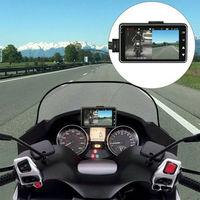 HD 1080P 3inch Waterproof Dual Lens Dash Cam Motorcycle Video Camera DVR