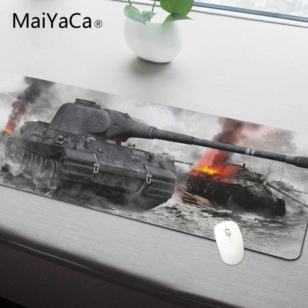 все цены на MaiYaCa World of Tanks Padmouse 700x300mm wot pad to Mouse Notbook Computer Mousepad Popular Gaming Mouse Pad Gamer to Laptop онлайн