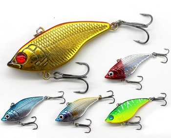 5cm 14g Fish shaped vib for lure fishing slow sinking suitable for long distance casting