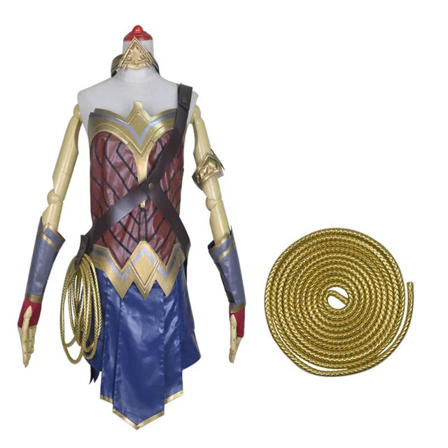 adult women halloween wonder women superhero costume teen girls fancy cosplay armor props faux leather clothes