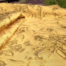 3D Vàng Sáng Bóng Dạ Nỉ Vải Thổ Cẩm Cho Áo Cưới, Châu Phi Diy Thun May Vải, Áo Choàng May Chất Liệu Vải