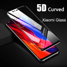 5D Curved Surface 9H Protective Glass For Xiaomi Mi 8 A 2 Lite Pocophone F1 Screen Redmi Note 5 6 Pro Protector Mi8