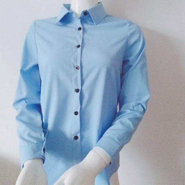 Korean Blouse Women Shirts 2019 New Spring Summer Large Size Casual Fashion Elegant Bottoming Shirts Office Work Ladies Shirt 3
