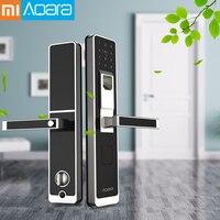 Оригинальный Xiao mi Aqara Умный Замок mi Дверной сенсорный электронный замок живой отпечаток пальца разблокировка пароль приложение управление