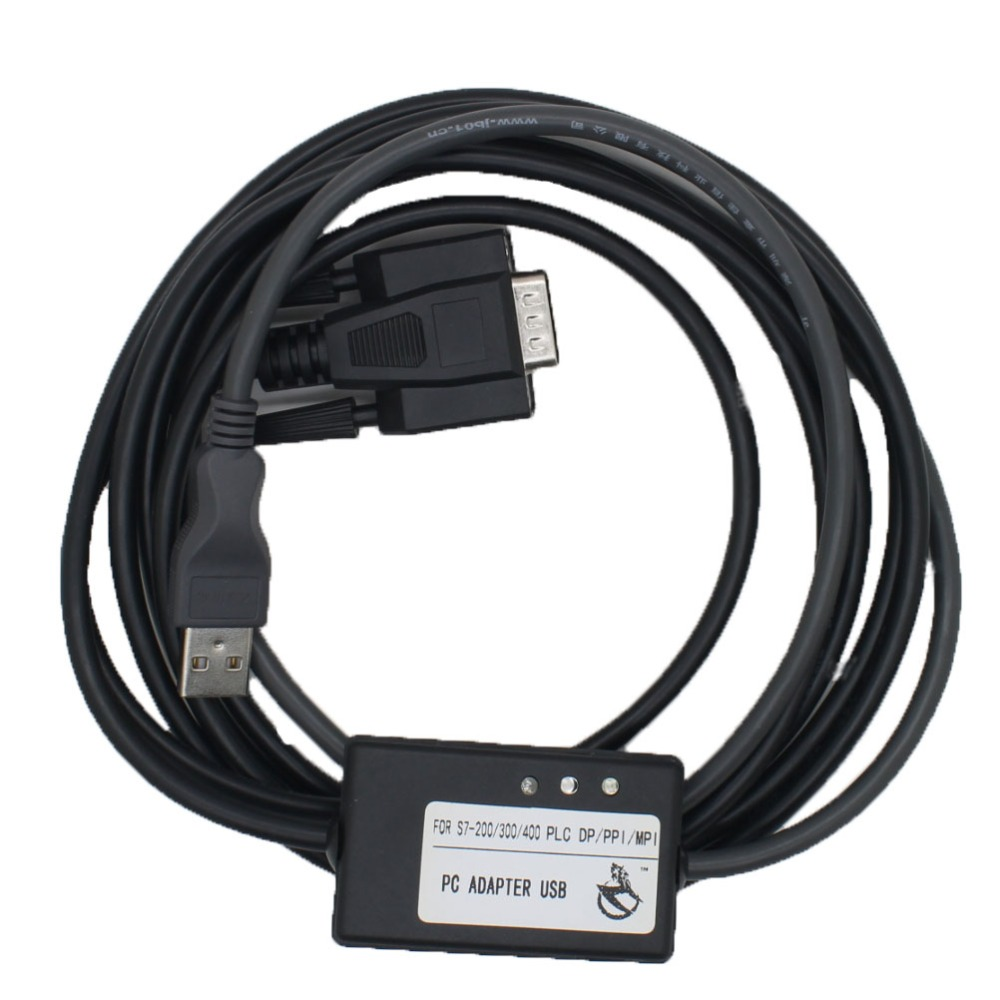 PC Adapter USB A2 Cable for S7 200/300/400 PLC DP PPI MPI Profibus ...