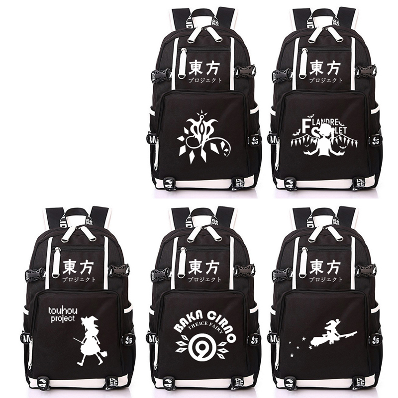 Anime Eastern Touhou Project Backpack Boys Girls Student School Printing Bag Casual Book Bag Cosplay Gifts TravelAnime Eastern Touhou Project Backpack Boys Girls Student School Printing Bag Casual Book Bag Cosplay Gifts Travel