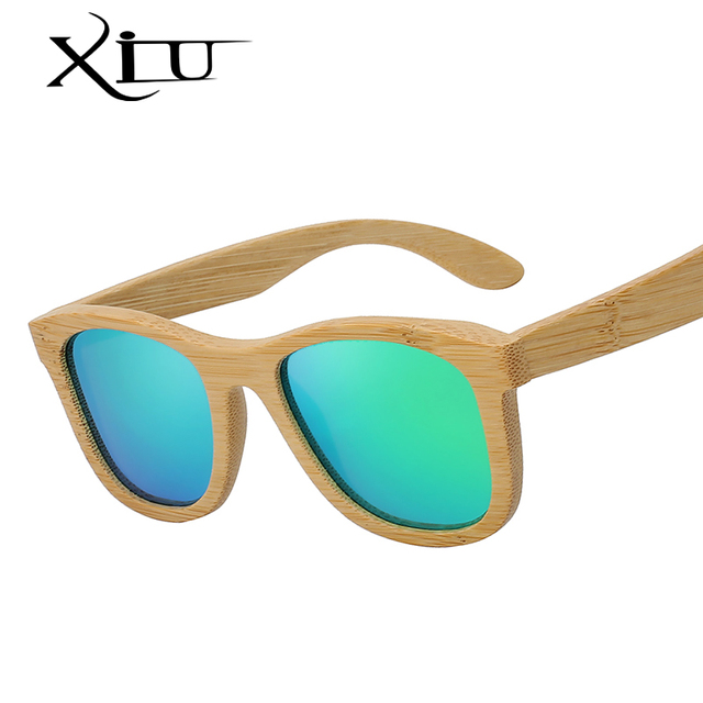 746a0666351a XIU Classic Wood Sunglasses Men Brand Design Polarized Sunglasses Women  Fashion Bamboo Eyewear Wooden Glasses Top Quality UV400. 2 orders