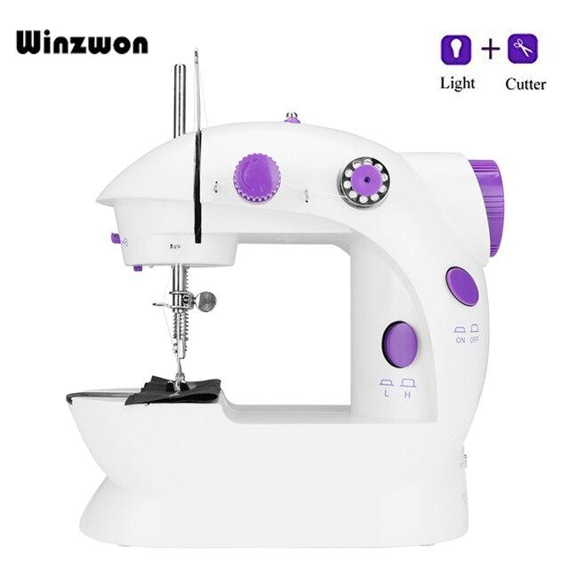 EU US Plug Household Mini Electric Sewing Machine Portable Sewing Interesting Sewing Machine Plug