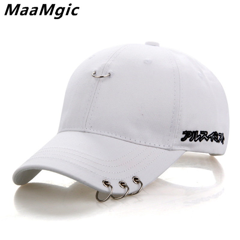 Mens Snapback Hats BTS Jimin Fashion K Pop Iron Ring Hats Adjustable Baseball Cap Fashion Sport Hip Hop Hat Wholesale 2018 NEW wholesale spring cotton cap baseball cap snapback hat summer cap hip hop fitted cap hats for men women grinding multicolor