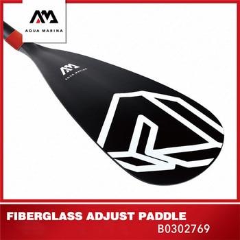 AQUA MARINA SOLID 2019 nuevo SUP Paddle fibra de vidrio Paddle inflable tabla de surf Paddle Sup deportes Kayak remo 180-220cm