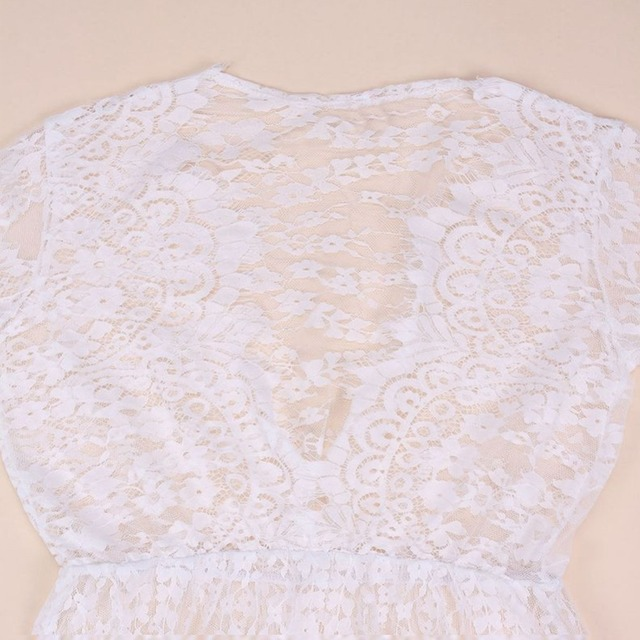 Fashion Summer Women Asymmetrical Patchwork Dress  5