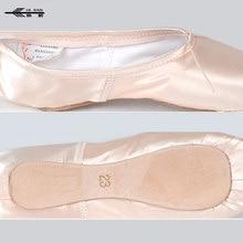 Women Girls Lady Ballet Pointe Dance Shoes Professional Ribbon Ties Satin Black Pink /Dance Shoes