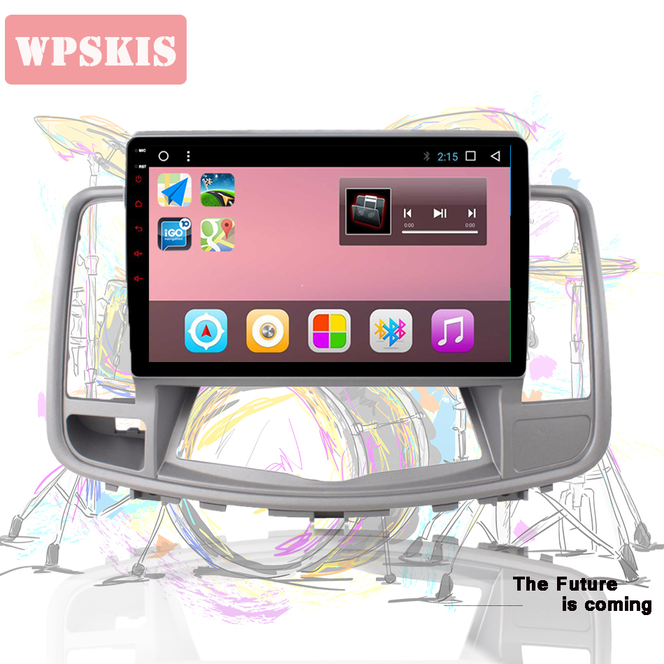1024 600 Hd 10 1 inch Android 9 0 Car DVD Player For Nissan Teana 2008