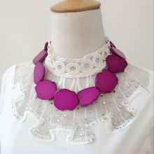 Hot Pink Collar Necklace