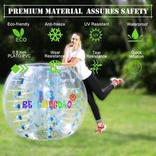 1,2 м 1,5 м 1,7 м человеческий надувной мяч для футбола надувной шар бампера Зорб мяч пузырь футбол