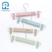 FURGERIN 5pcs/lot Clothes Hanger Wall anti slip baby hangers for clothes Portable Kids Children underwear Hangers