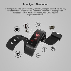 Image 3 - 2020 hot Fitness Band GT101 Color Screen Heart Rate Monitor Smart Bracelet Waterproof Call Reminder Activity Tracker for iPhone