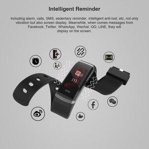 Image 3 - 2020 hot Fitness zespół GT101 kolorowy ekran pulsometr inteligentne bransoletka wodoodporna połączeń przypomnienie aktywności Tracker dla iPhone