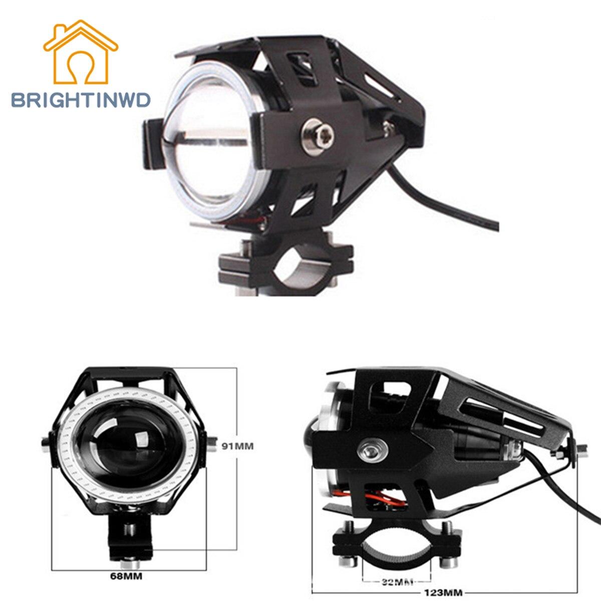 BRIGHTINWD Car LED Headlight U7 Transformers Electric Laser Cannon Modified Flash Spotlight Highlighted dy6020 20w car spotlight headlight