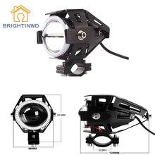 Brightinwd автомобиля светодиодный фар u7 Трансформаторы Электрический лазерная пушка изменение flash Spotlight подчеркнул