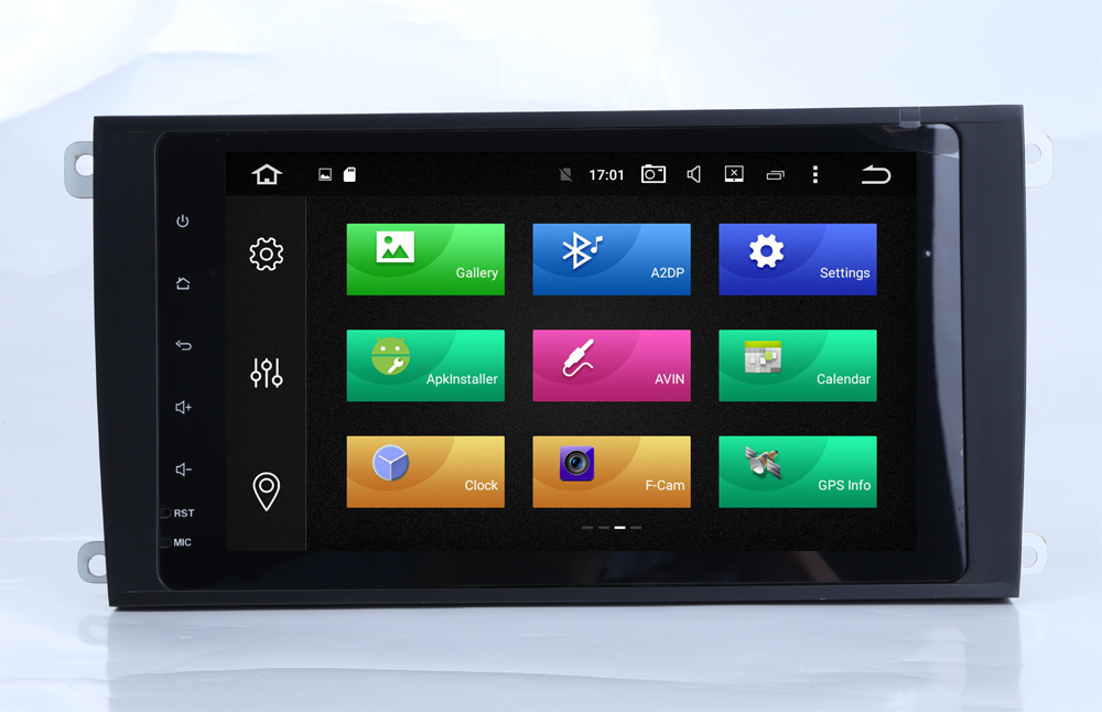 9 Quad core 1024*600 HD screen Android 7.1 Car navigation stereo multimedia video player for Porsche Cayenne 2002-2010