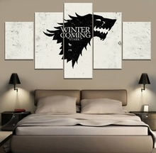 5 Panels Game of thrones Movie HD Print Painting Poster Modern Home Decorative On Canvas Printing And The Wall Picture
