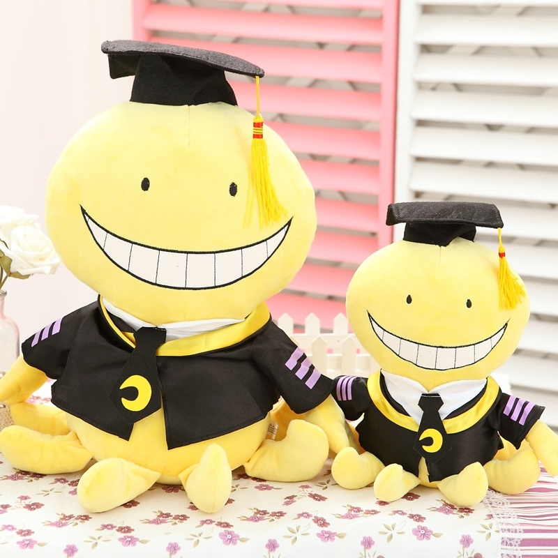 Octopus Assassination Classroom Koro Sensei Plush Toy Cute Doll Party Gift M 30cm And L 45cm
