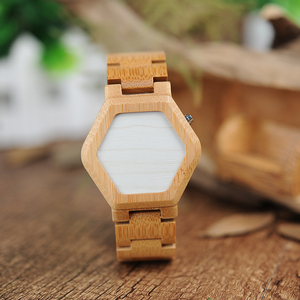 Image 2 - BOBO BIRD V E03 Casual LED Digital Bamboo Watch Night Vision LED Watch Cool LED Display Clock with Unique LED Date Day