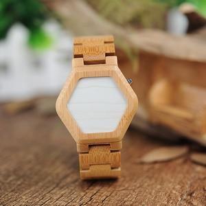 Image 2 - BOBO VOGEL V E03 Casual LED Digital Bambus Uhr Nachtsicht LED Uhr Coole Led anzeige Uhr mit Einzigartige LED Datum tag
