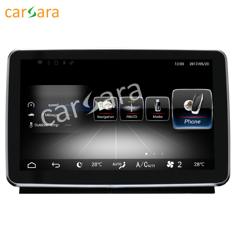 8 4 Android touch screen Navigation display for Mercede ML GL 12 15 GPS stereo dash