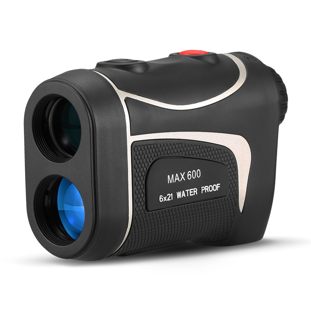 600M Golf Laser Rangefinder Precision Range Finder 6X Magnification Distance Meter Angle Height Range Finder for Golf Hunting-in Rangefinders from Sports & Entertainment