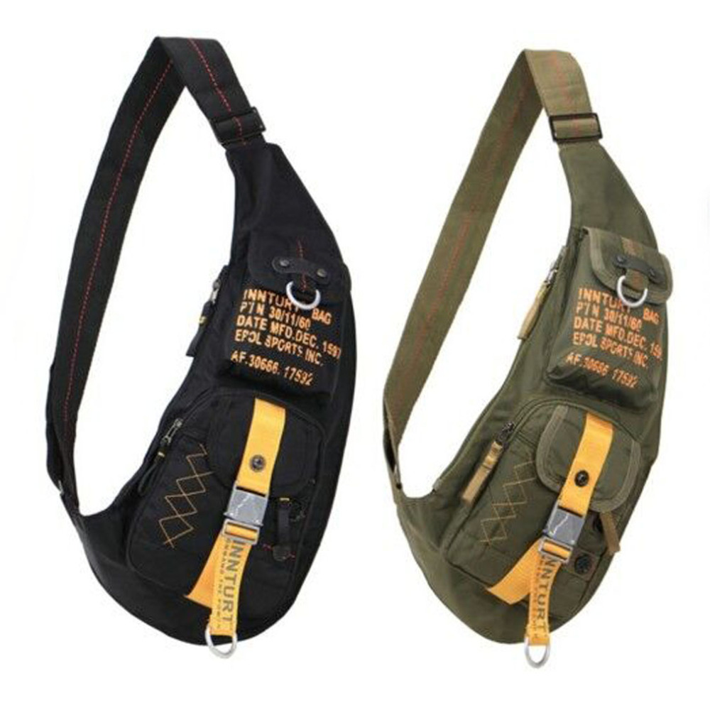 font b Men b font Waterproof Nylon Sling Chest font b Bag b font font