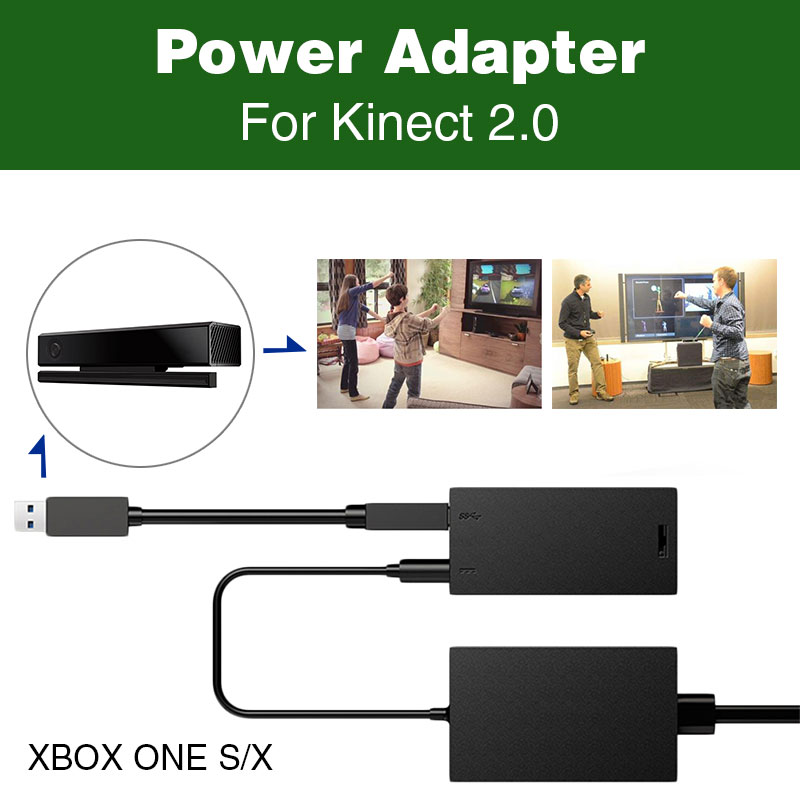 Порт USB 3,0 Kinect Сенсор адаптер видео адаптер питания для Xbox One s/x PC Windows 7/8 /10 видеоигры аксессуары
