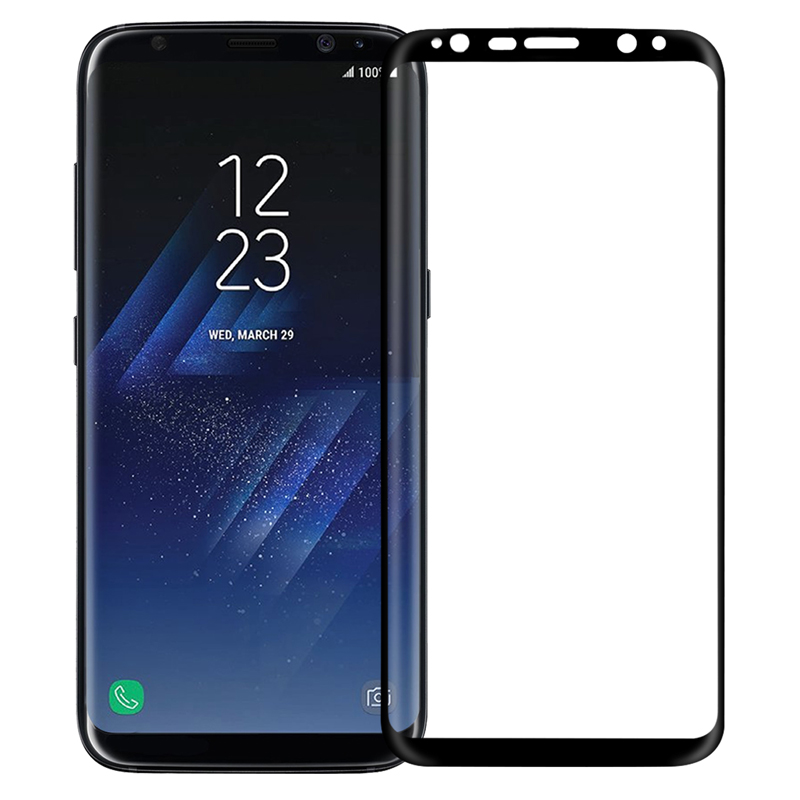 Image 2 - NILLKIN for samsung galaxy s8 plus screen protector full cover 3d 9H thin for samsung s9 s9 Plus Note 9 tempered glass curved-in Phone Screen Protectors from Cellphones & Telecommunications