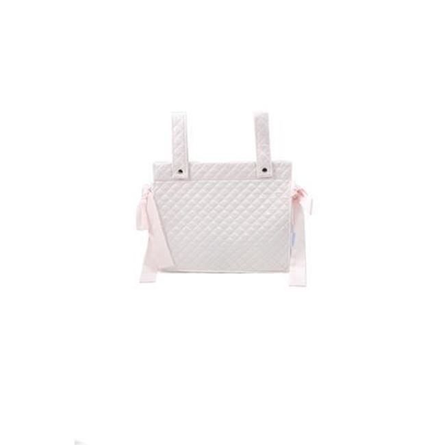 Patucos Isabel Diaper Bag with Stroller Pink