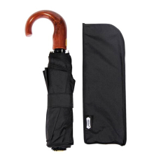 Genuine Parachase Folding Umbrella Brand Business Men Automatic Umbrella Rain Windproof Curved Handle Prasols For Adult
