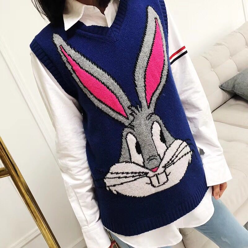 WB06862BA Fashion womens Sweaters 2018 Runway Luxury Brand European Design party style w ...