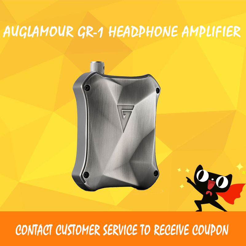 AUGLAMOUR GR-1 headphone amplifier usb dac dsd player volume control portable audio amplifier balance dac audio headphone amp цена и фото