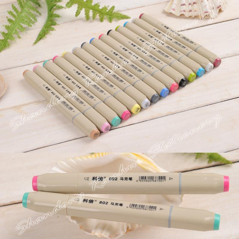 72 P Colors self-selection set Comby 802 Marker Pen commonly used Sketch marker a markers 48 p colors self selection set comby800 marker pen commonly used sketch marker a markers