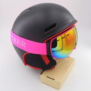 Image 5 - children skiing goggles for kid boys girls glass anti fog lens winter snow glasses snowboard goggle ski googles kids ski goggles