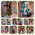 Wholesale Fashion lot  for sale original for monster high clothes doll skirt leisure suit clothing accessories