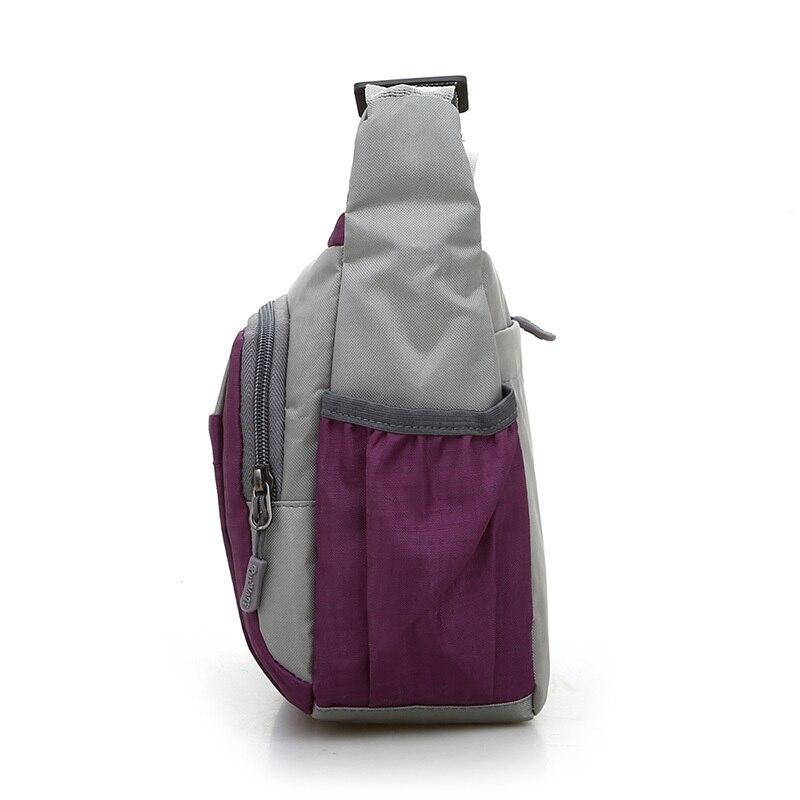 Joining together Messenger Bag Preppy Style Waterproof Nylon Crossbody Bag Contracted Joker Leisure and Travel Bag Shoulder Bag 3